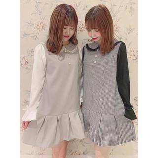 evelyn - 今期店舗限定💖新品未使用タグ付き💖裾タックワンピース