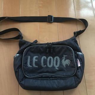 ルコックスポルティフ(le coq sportif)のルコックスポルティフ 黒 ショルダーバッグ(ショルダーバッグ)