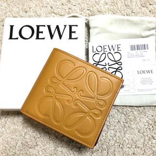 LOEWE - 【新品6万】LOEWE ロエベ コインケース付 二つ折り財布