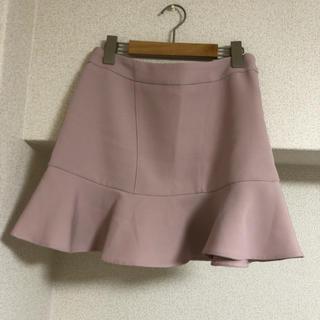MISCH MASCH - ピンクベージュ フレアスカート 韓国 服 美品