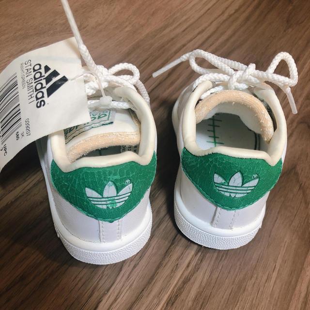 adidas(アディダス)のadidas  スタンスミス ベビーシューズ 12センチ キッズ/ベビー/マタニティのベビー靴/シューズ(~14cm)(スニーカー)の商品写真