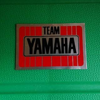 ヤマハ(ヤマハ)の↓ チーム ヤマハ yamaha ステッカー (ステッカー)