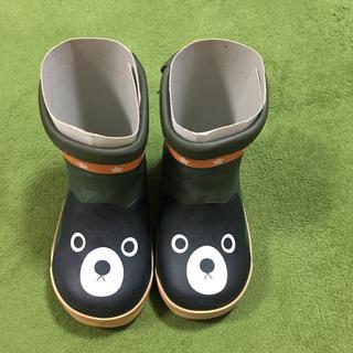 DOUBLE.B - 新品未使用 ダブルビー13センチ 長靴