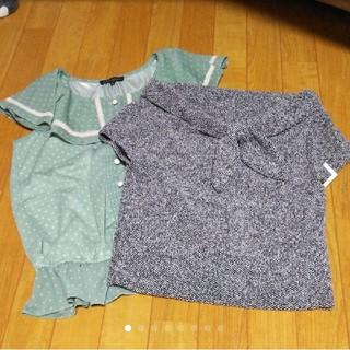 ミッシュマッシュ(MISCH MASCH)のブラウスセット(シャツ/ブラウス(半袖/袖なし))