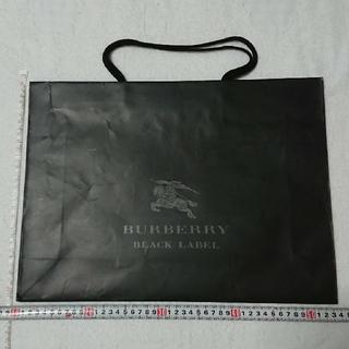 バーバリーブラックレーベル(BURBERRY BLACK LABEL)のBURBERRY バーバリー 紙袋(ショップ袋)
