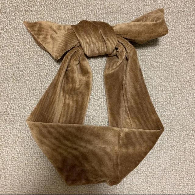 STUDIO CLIP(スタディオクリップ)のコーデュロイ ヘアバンド レディースのヘアアクセサリー(ヘアバンド)の商品写真