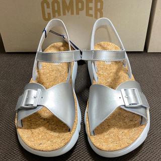 カンペール(CAMPER)の新品 Camper Oruga カンペール サンダル オルガ シルバー 41(サンダル)