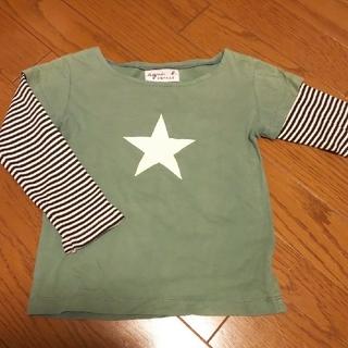 アニエスベー(agnes b.)のアニエスb  長袖シャツ  グリーン(Tシャツ/カットソー)