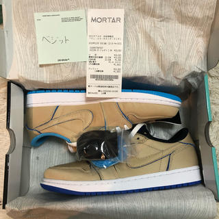 "NIKE -  SB AIR JORDAN 1 LOW ""DESERT ORE/ROYAL"