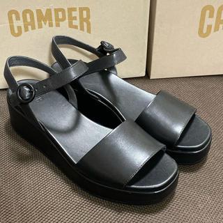 カンペール(CAMPER)の新品 Camper Misia カンペール ミシア サンダル ブラック 41(サンダル)