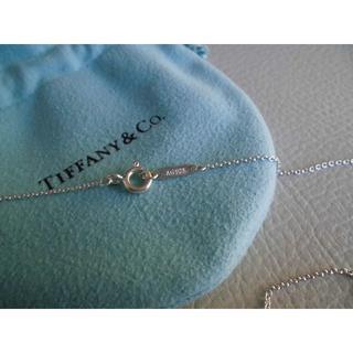 Tiffany & Co. - TIFFANY ネックレスチェーン SILVER925