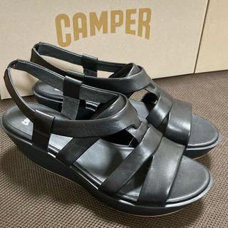 カンペール(CAMPER)の新品 Camper Damas カンペール ダマス サンダル ブラック 40(サンダル)