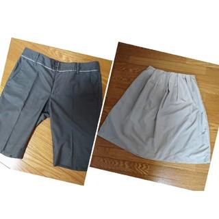 UNITED ARROWS - UNITED ARROWS半ズボン&ELLEスカート
