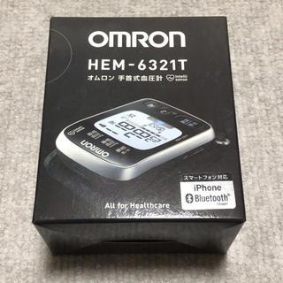 OMRON - オムロン 手首式血圧計 HEM-6321T