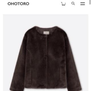オオトロ(OHOTORO)のohotoro  mont blanc coat(毛皮/ファーコート)