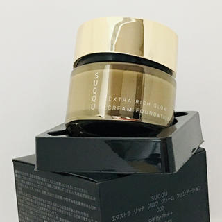 SUQQU - SUQQU エクストラ リッチグロウクリームファンデーション 002