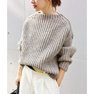 IENA - 美品 * IENA chere British wool プルオーバー