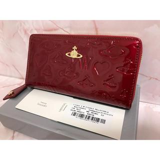 赤エナメル長財布❤️ヴィヴィアンウエストウッド❤️新品・未使用