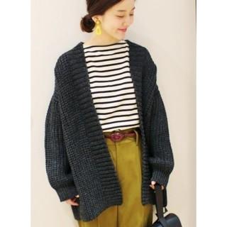 IENA - 美品 * IENA chere British wool カーディガン