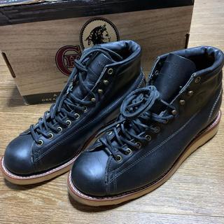 チペワ(CHIPPEWA)のchippewa チペワ モンキーブーツ 9EE  黒(ブーツ)