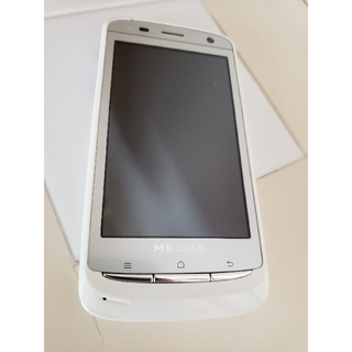 エヌイーシー(NEC)のスマートフォン MEDIAS  BR  IS 11N   NEC(スマートフォン本体)