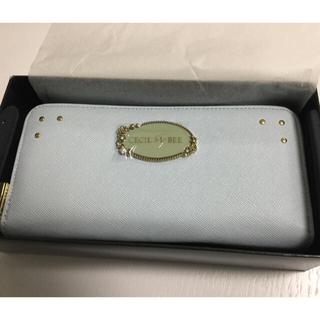 セシルマクビー(CECIL McBEE)の新品未使用☆セシルマクビー アイスブルー長財布(財布)