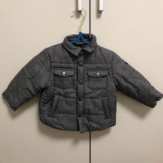 プティマイン(petit main)のプティマイン シャツ襟モチーフ中綿ブルゾン 80cm(ジャケット/コート)