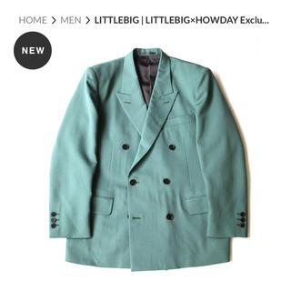 JOHN LAWRENCE SULLIVAN - LITTLEBIG×HOWDAY Exclusive Suit | Green