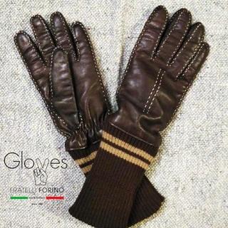 JOURNAL STANDARD - 美品グローブス✨Gloves ラムスキン 羊革 カシミア 手袋 レザーグローブ