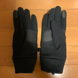 ステューシー(STUSSY)のstussy レザー切り替え手袋(手袋)