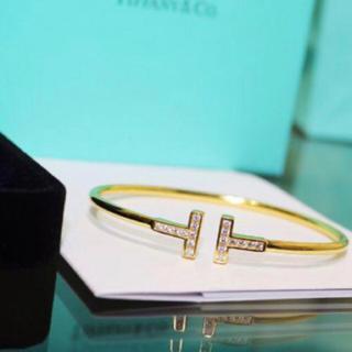 Tiffany & Co. - ✨最高品質✨金属アレルギー対応✨ティファニー好き✨Tワイヤー