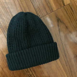 サマンサモスモス(SM2)のSM2 サマンサモスモス ぽってり厚地のニット帽 深緑(ニット帽/ビーニー)