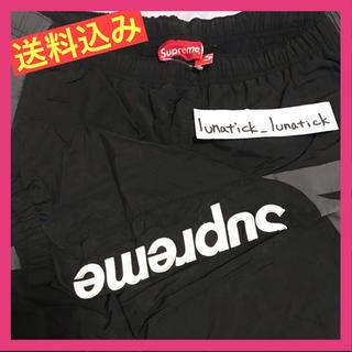 Supreme - 送料込み supreme 19aw Side Logo Track Pant 黒