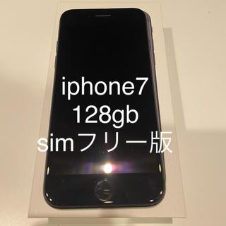 Apple - iphone7 128GB simフリー版 black