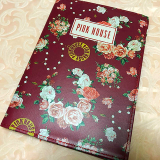 PINK HOUSE 手帳 カバーのみ