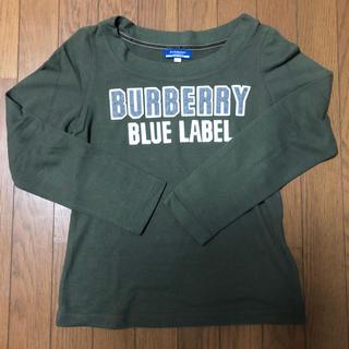 バーバリーブルーレーベル(BURBERRY BLUE LABEL)のトレーナー♪薄手(トレーナー/スウェット)