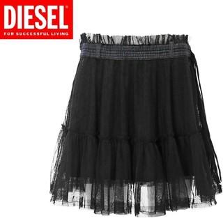 ディーゼル(DIESEL)のディーゼル チュールデザイン スカート(ミニスカート)