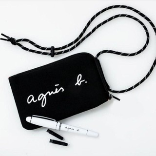 agnes b. - agnès b.アニエスベー マルチケース&万年筆