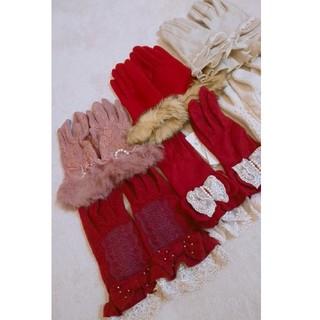 アクシーズファム(axes femme)のレディース手袋六点セット(手袋)