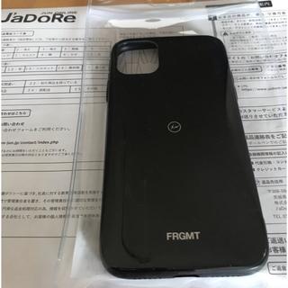 フラグメント(FRAGMENT)のPOP BY JUN iPhone11 ケース ブラック(iPhoneケース)
