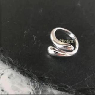 BEAUTY&YOUTH UNITED ARROWS - tear drop ring silver925
