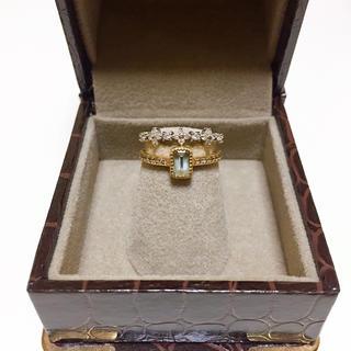 ジュエリーツツミ(JEWELRY TSUTSUMI)のJEWELRY TSUTSUMI ジュエリーツツミ K14WGリング(リング(指輪))