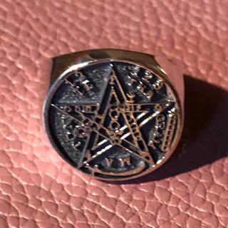 テトラグラマトン 魔術師 シルバー925 リング  16号 オーバル 銀 指輪(リング(指輪))