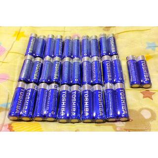 東芝 - 単3電池 単3 アルカリ 東芝 単三 乾電池 32本