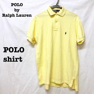 ポロラルフローレン(POLO RALPH LAUREN)の美品【 POLO Ralph Lauren 】黄色 オーバーサイズ ポロシャツ(ポロシャツ)