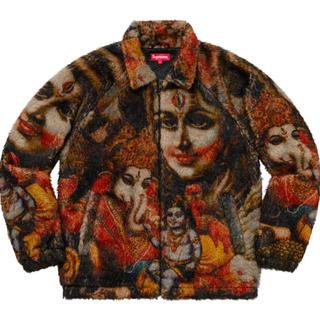 シュプリーム(Supreme)のSupreme Ganesh Faux Fur jacket L (最終)(ブルゾン)