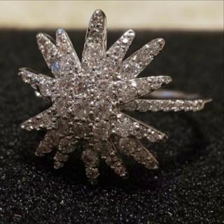 スワロフスキー(SWAROVSKI)のf72❇️コスモス❇️スワロフスキー ダイヤモンドキュービックジルコニア リング(リング(指輪))