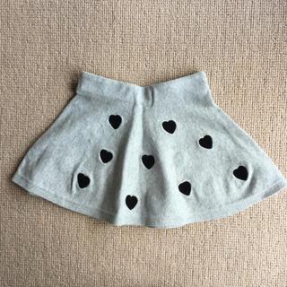 エイチアンドエム(H&M)のエイチアンドエム ニットスカート   98 104(スカート)