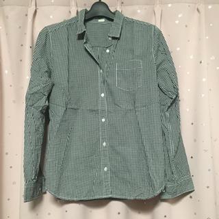 GU - 美品!GU*ギンガムチェックシャツ*Mサイズ