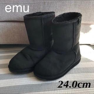 エミュー(EMU)の☆美品☆ emu エミュー ムートンブーツ 24.0cm(ブーツ)